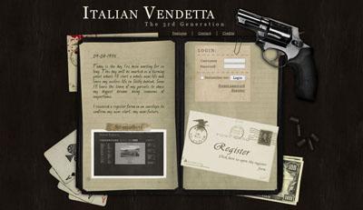 Italian Vendetta 3.0 main dashboard