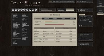 Italian Vendetta 3.0 dashboard adjusting